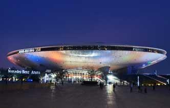 上海梅赛德斯奔驰文化中心图集