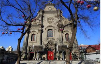 北京南堂宣武门教堂图片