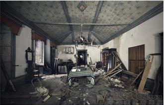 葡萄牙被遗弃的豪宅建筑(组图)