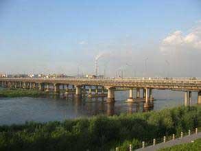 吉林市哈龙大桥图集