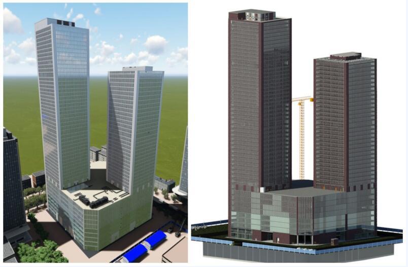 盛达金城广场首次应用BIM技术项目