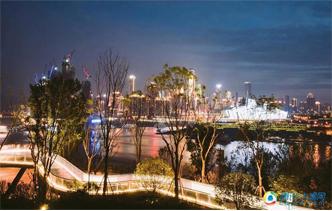 重庆再添夜景新地标(组图)