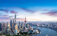 重达85万吨上海中心大厦(组图)