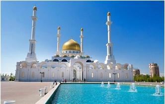 探访中亚最大清真寺建筑(组图)