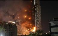 迪拜火炬大厦突发大火 系世界最高居民楼之一(组图)