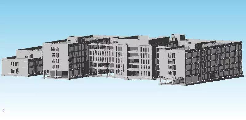 安哥拉羅安達體育場BIM模型